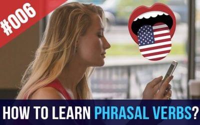 #006 English Phrasal Verbs with mini-stories