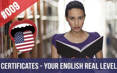 #009 English Certificates – Your Real Level of English