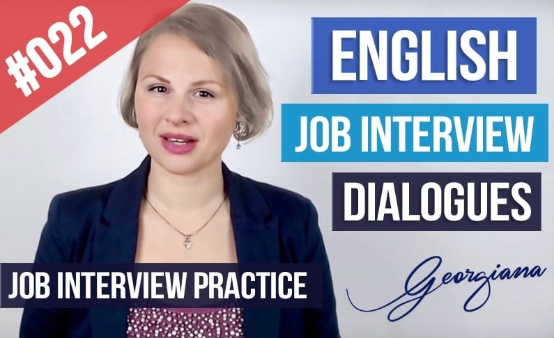 English Job Interview Examples Course Job Interview Dialogue