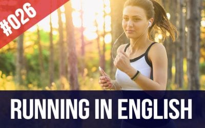 running in English