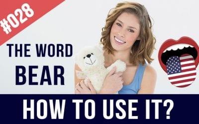 #028 English Phrasal Verbs with Bear