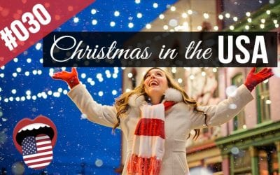 #030 🎄Christmas In The USA | English Story – Speaking Practice