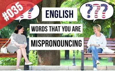 Words in English you are Mispronouncing