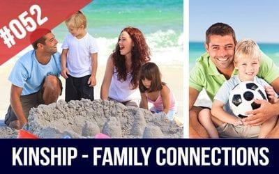 kinship family relatives in English