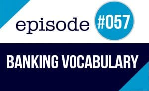 banking vocabulary in English
