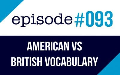 #093 American vs British vocabulary differences