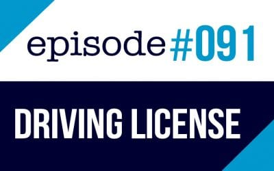 #091 Getting a Driving License in the USA – ESL Podcast