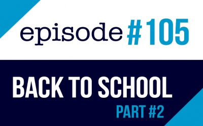 #105 Back to school part #2 – ESL English podcast