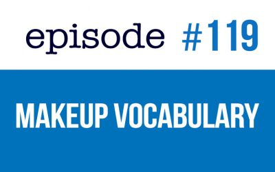 #119 Beauty and Makeup vocabulary in English