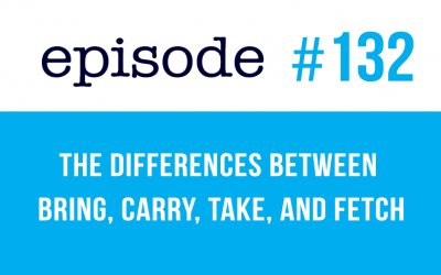#132 The differences between Bring, Carry, Take, and Fetch (rep)