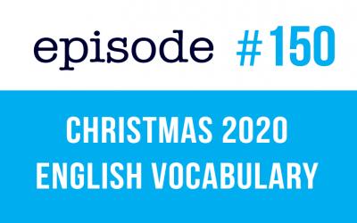 #150 Christmas 2020 English Vocabulary 2020 (rep)