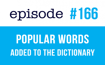 #166 Popular words in English added to the dictionary