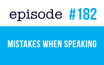 #182 Mistakes when speaking in English